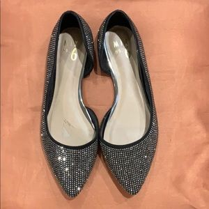 Mix No. 6 Sparkle Rhinestone Flats - NWT - No box!